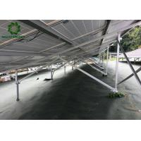 Buy cheap Silver Customized Ground Mount Solar Racking Systems Industrial Ground Mounting from wholesalers