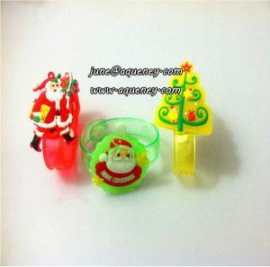 China Adjustable led silicone wristband as Christmas gift wholesale