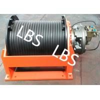 China Slow Speed Hydraulic Cable Winch For Overhead Working Truck And Hoist Machine wholesale