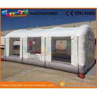 China Outdoor Inflatable Spray Booth PVC Tarpaulin Inflatable Car Tent Digital Printing wholesale