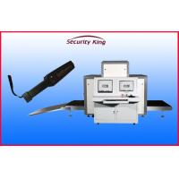 Buy cheap Sound Ligh Alarm L Shaped Photodiode Array X Ray Security Scanner with 220kgs from wholesalers