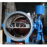 China Hydraulic Counter weight  Flanged Butterfly Valve on sale