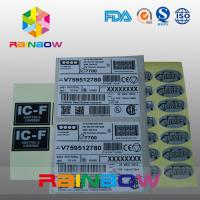 China Customized Express Labels / Sticker Shrink Sleeve Labels For Bag , Box , Card wholesale
