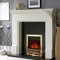 China insert or freestanding electric fireplace Heater stove NDY-19CL chimenea Silver burning flame effect  indoor heater wholesale