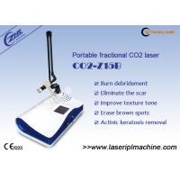 China Super Pulse Fractional Co2 Laser Machine For Spot Laser Removal on sale