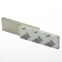 China 80 Degrees N52 Super Strong Block Neodymium Magnet on sale