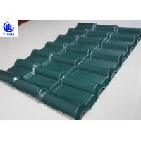 China Stable Fire Froof Synthetic Resin Roof Tile For Villa , Residential  2.3mm Thickness wholesale