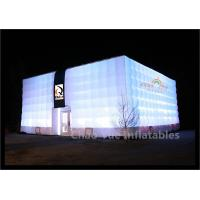 Quality LED Inflatable Cube Tent for outdoor event for sale