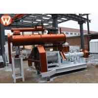 China High Capacity Floating Fish Feed Plant 1.8T/H With 0.4-0.8MPa Steam Boiler wholesale