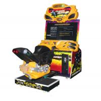 China Super Motorcycle Racing Game Machines With 42 Inch HD LCD Display Screen wholesale