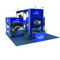 Quality Tension Fabric Graphic Modular Trade Show Booth Portable Lightweight for sale