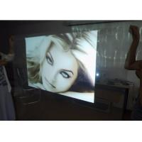 China Rear Holographic Projection Film 171*128mm Viewing Area 4.0 - 5.0 Gain on sale