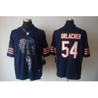 China Nike Chicago Bears 54 Urlacher blue men helmet Tri-Blend limited jersewww.doamazingbusines wholesale