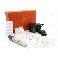 China Professional Electronic Eyebrows Embroidery Tattoo Pen With Black / Gold Color wholesale