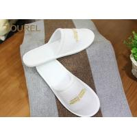 China Closed Toe Terry Cloth Slipper Disposable Hotel Slippers Comfortable and Durable wholesale