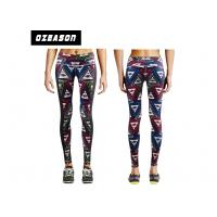 China Customized Sport Compression Clothing Women Fancy Dry Fit Yoga Leggings wholesale