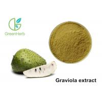 China High Pure Herbal Plant Extract / Graviola Fruit Extract Powder Non - Irradiated wholesale