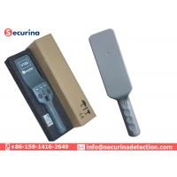 China Alarm Handheld Security Scanner Wand With Adjustable Sensitivity Body Search wholesale