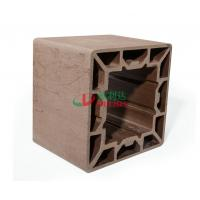 China High Density Wpc Profile 200 * 200mm , Plastic Composite Lumber Rotproof wholesale