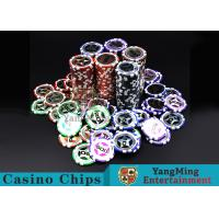 China Eco 12g Clay Poker Chips With Ultimate Sticker , 40mm Diameter wholesale