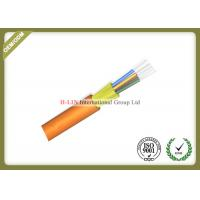 China Indoor Distribution Fiber Optic Cable , Tight Buffered Fiber Optic Cable Multi Core wholesale