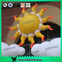 China 2m 210D Oxford Cloth LED Lighting Inflatable Sun Color Changing For Party Decoration wholesale