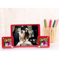 China Red acrylic 8x10 photo frame wholesale