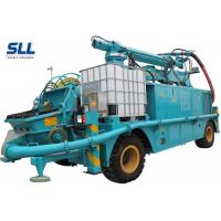 Robotic Telescopic Arm Concrete Pumping Machine For Mine / Tunnel / Construction