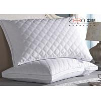 China Hotel Comfort  White Pillows 100% Cotton 1200G For SPA  With Hospital wholesale