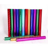 Red Blue Green Holographic Foil Paper Flat Hot For Greeting Card