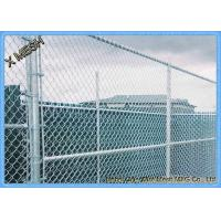 China 5 Ft Metallic Coatings Hot Dipped Galvanized Chain Link Fence Fabrics For Rural SGS Listed wholesale
