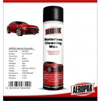 China Glossy Finish Car Interior Cleaning Products Spray Wax For Cockpit / Dashboard wholesale