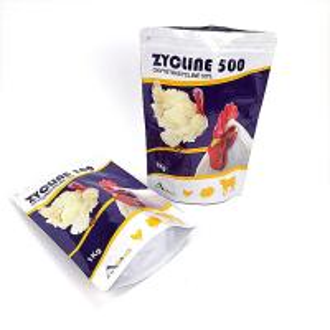 China Waterproof Aluminum Foil Heat Seal Packaging Bag Ziplock Gravnre Printing For Chicken wholesale