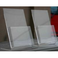 China 3 mm Clear Store Counter Acrylic POP Display Stands for Brochure wholesale