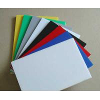China SC Extruded Industrial Engineering Plastics , Assorted Colorful POM Sheet wholesale