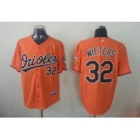 China MLB baltimore orioles 32 Wieters orange Jerseys wholesale