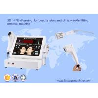 Buy cheap 3D hifu + freezing for beauty salon and clinic wrinkle lifting removal machine from wholesalers