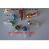 China plastic pill bottles for sale rhino 13 empty capsule bottle for sex pill mini waterproof pill box metal pill capsule wholesale