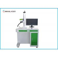 China CO2 Air Cooling Desktop  Laser Marking Machine 30w With Laptop Rotary Devices wholesale