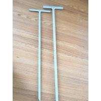 Quality 1m - 3m Earth Ground Anchor Spike For Tent / Garden HDG Surface Q235 Material for sale