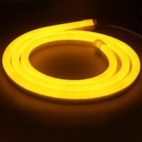 Quality Outdoor 120degree yellow 16x24mm flexible LED Neon strip lights/ LED strip Light for sale
