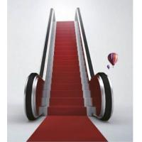 Hairline finished stainless steel indoor escalator  of Guangri -- GRF