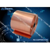 Cu - ETP T2 C110 - RA Copper Foil , with High Quality for sale