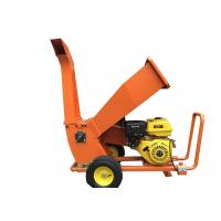 China Petrol gas power type chipper shredder machine tree branches chipper wholesale
