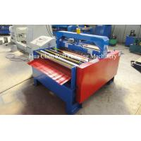 China Full Automatic Metal Plate Cutting Machine 3 rows For Wall Panel wholesale