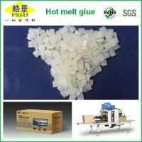 China Folding Carton Box Hot Melt Edge Banding / Packaging White Granule First Grade wholesale