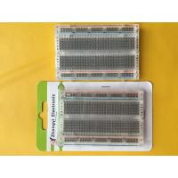 China 400 Points Transparent Round Hole Solderless Breadboard wholesale