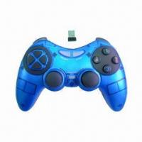 Buy cheap 2.4GHz Wireless Computer Game Controller, No Disconnection Problem from wholesalers