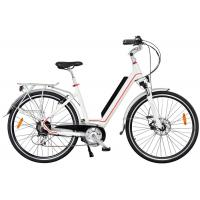 China Ladies High End Electric Bike , Rear Wheel Motor And Pedal Assisted System wholesale
