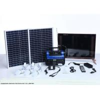 China High End Residential Solar Power Systems Build In Rechargeable Battery on sale